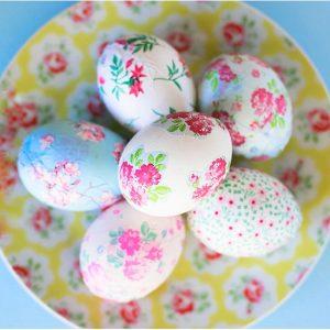 Декупаж на яйца за Великден или безвредно и полезно украсяване