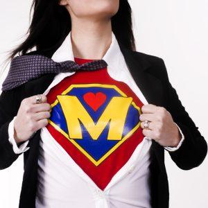 Мама - супергероиня