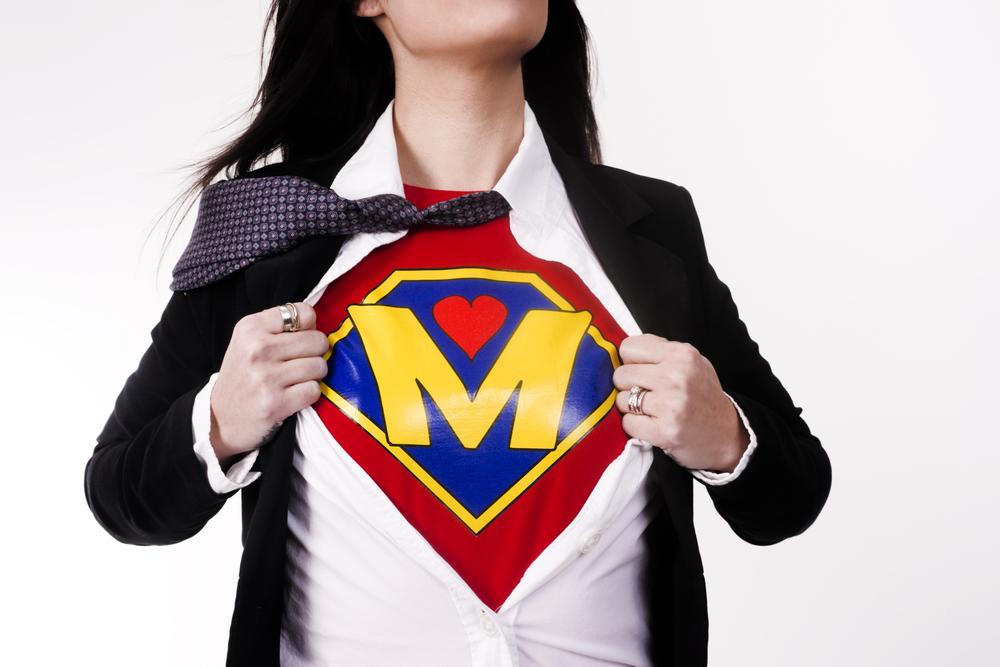 Мама – супергероиня