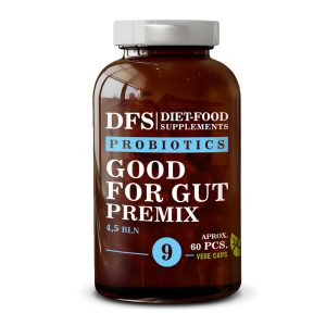 Пробиотик Good for gut Premix /Добър за корема и червата/ №9