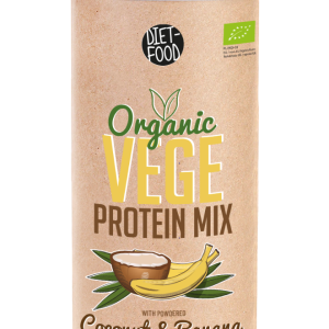 Био Веге протеин с Кокос и Банан -500гр.